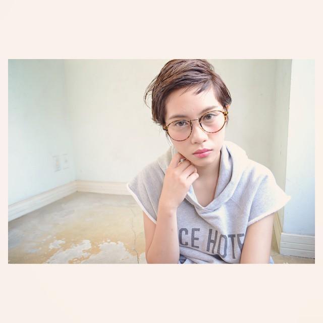メガネ 前髪17