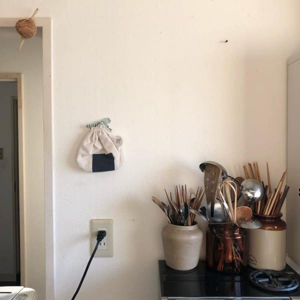 古道具好きさんの素敵なキッチン:古いアパートをリノベーション2
