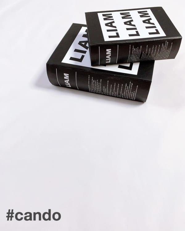 キャンドゥ ブック型ペーパーボックス
