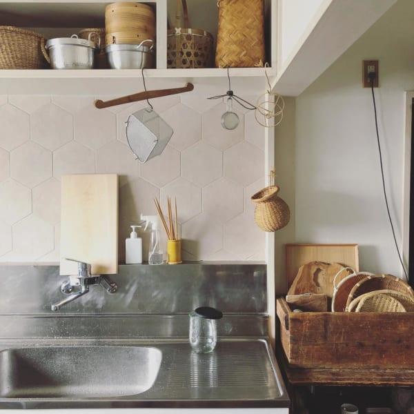古道具のある素敵なキッチンとアンティークインテリア2