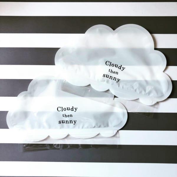 【ダイソー】雲形のジッパーバッグ