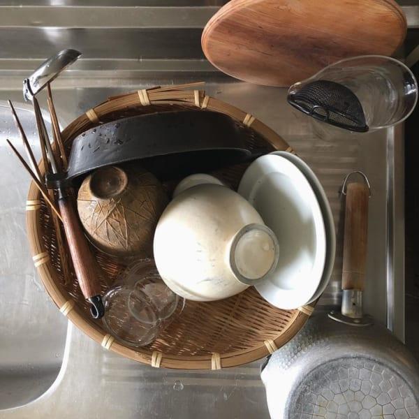 古道具のある素敵なキッチンとアンティークインテリア3