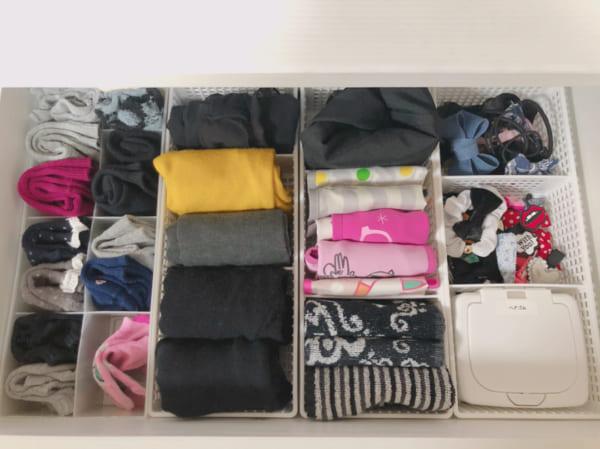 靴下収納 100均 仕切りケース