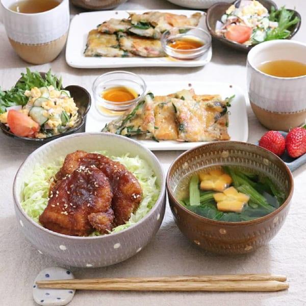 ワンプレート ランチ 丼4