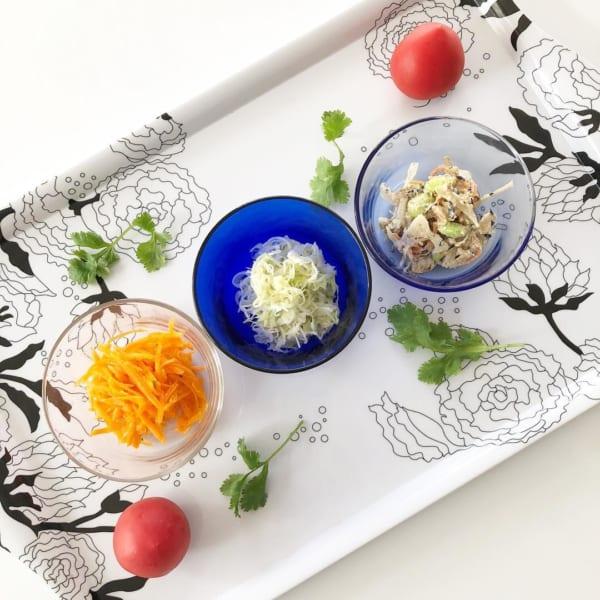 コールスロー&根菜サラダ