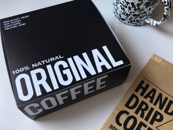 コーヒーフィルターボックス
