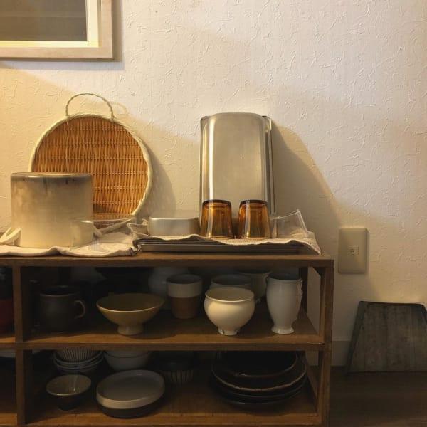 古道具のある素敵なキッチンとアンティークインテリア5