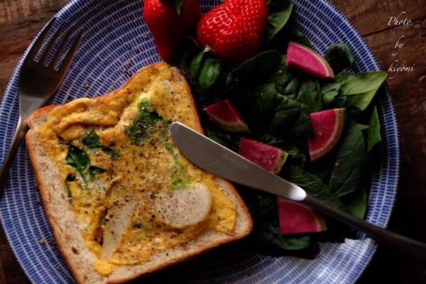 朝食 簡単レシピ パン