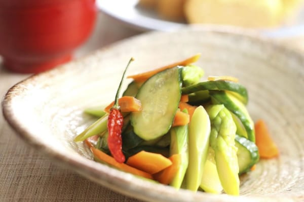 一人暮らし レシピ 野菜のポン酢漬け