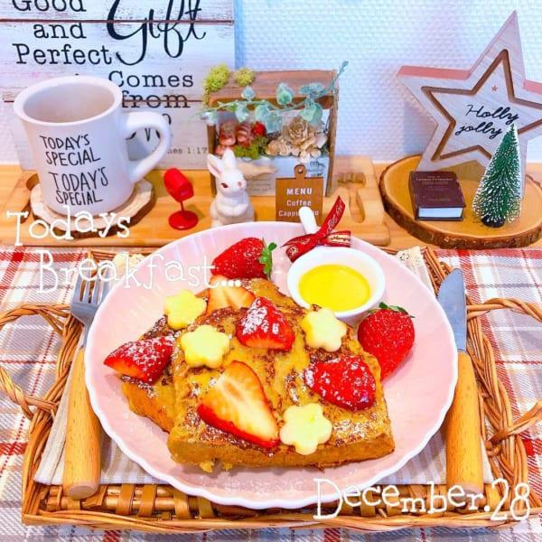 朝食 簡単レシピ パン4