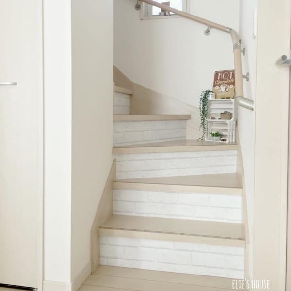 レンガモチーフ 階段