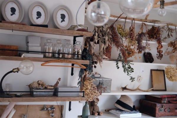 古道具好きさんの素敵なキッチン:団地リノベーション10