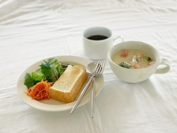 朝食 簡単レシピ パン6