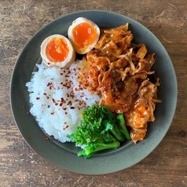 豚肉 簡単レシピ 韓国風3