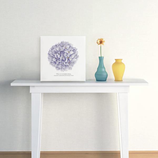 シンプルな白いコンソールテーブル