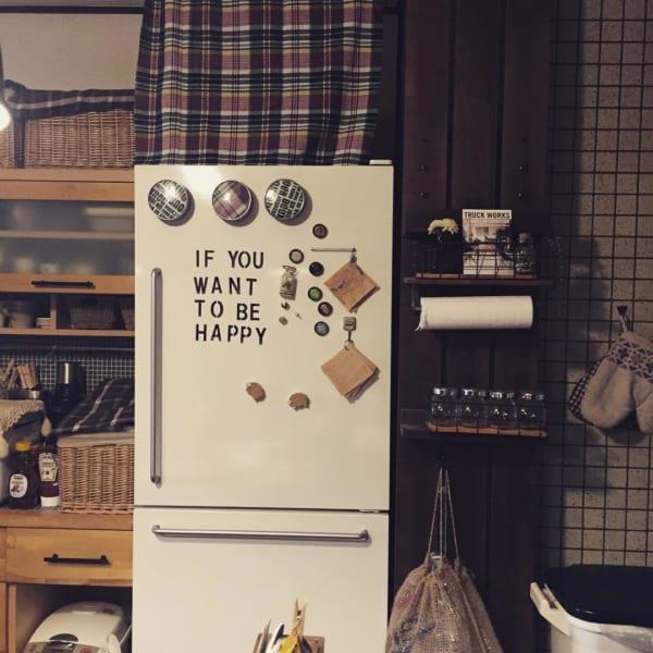 冷蔵庫 ステッカー