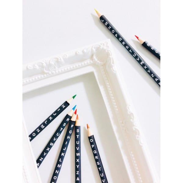 100均リメイク ダイソー 色鉛筆2