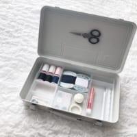 プチプラで綺麗に♪【無印・IKEA・100均】アイテムを使った裁縫道具収納
