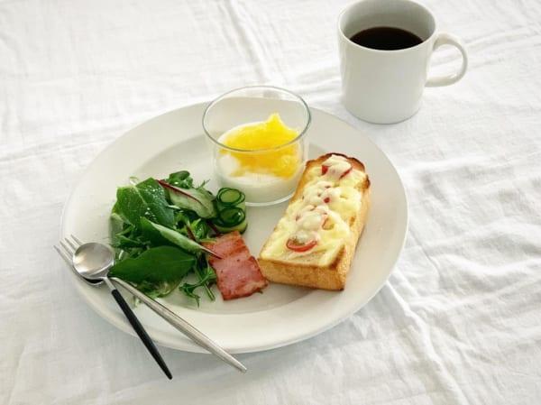 朝食 簡単レシピ パン7