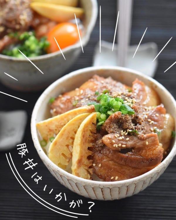 一人暮らし レシピ 豚丼