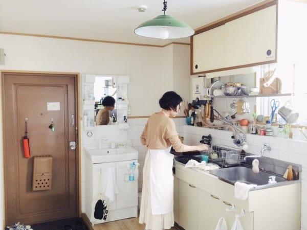 キッチンが主役。お料理上手さんの素敵なインテリア