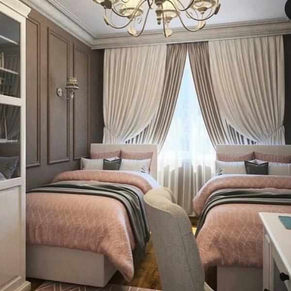 海外のベッドルームインテリア