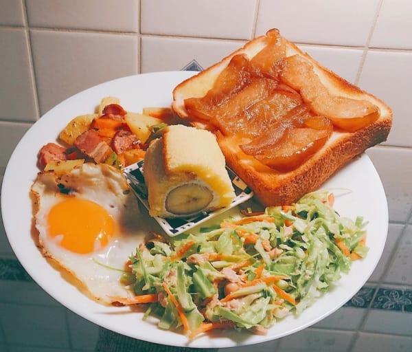 朝食 簡単レシピ パン8