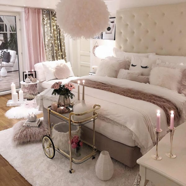 海外のベッドルームインテリア2