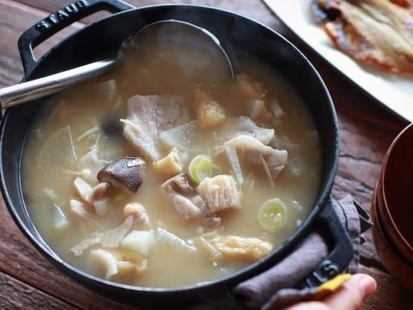 朝食 簡単レシピ スープ お味噌汁4