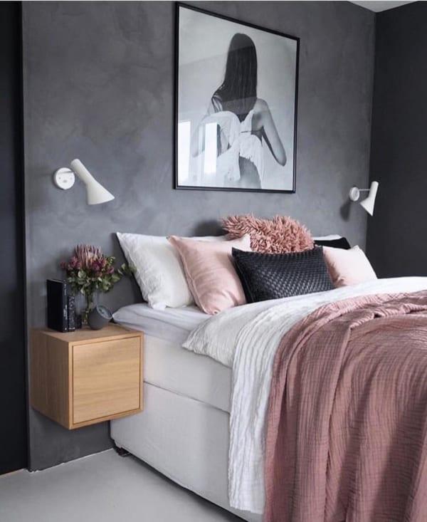 海外のベッドルームインテリア3