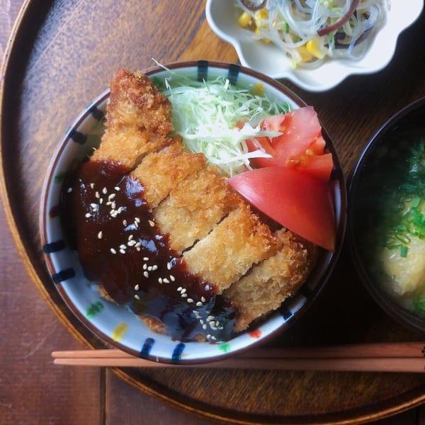 名古屋の味!味噌カツ丼