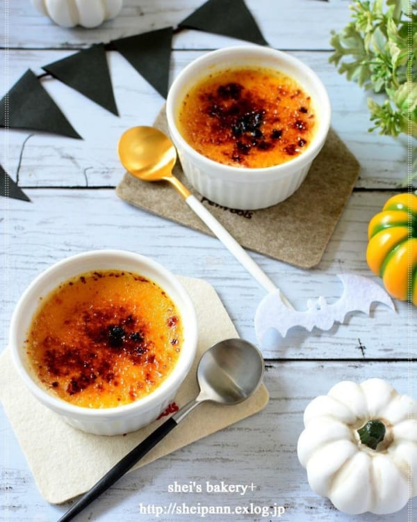 かぼちゃのブリュレ