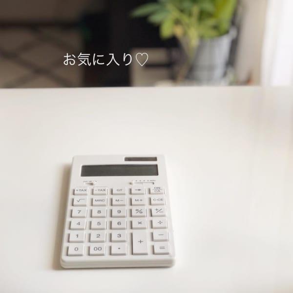 無印良品 電卓