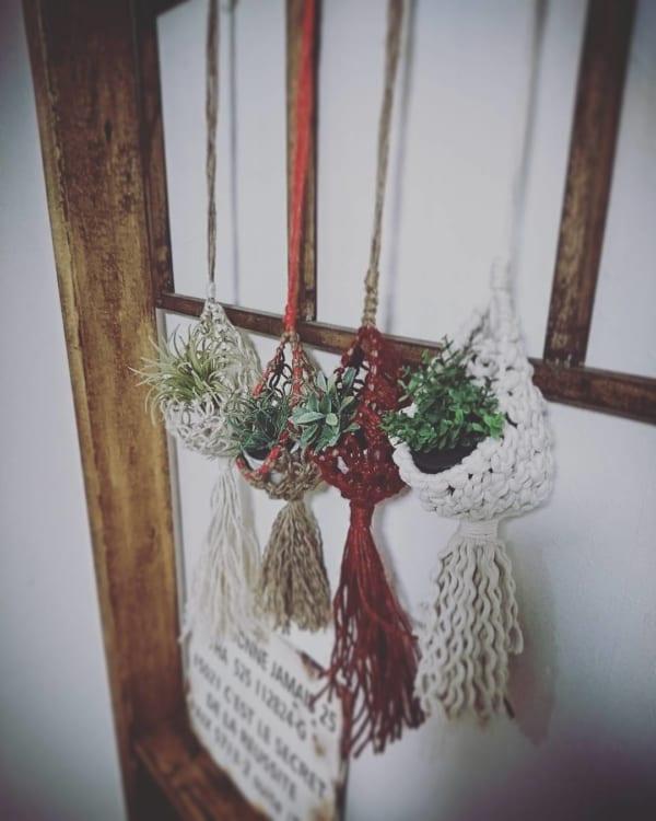 ♪オシャレな観葉植物の飾り方3