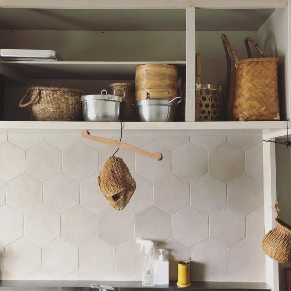 古道具好きさんの素敵なキッチン:古いアパートをリノベーション4