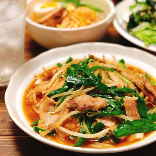 豚肉 簡単レシピ 中華風6