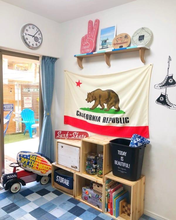 アメリカンインテリア 子供部屋