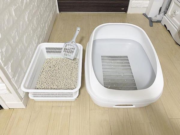 セリア 猫用システムトイレ