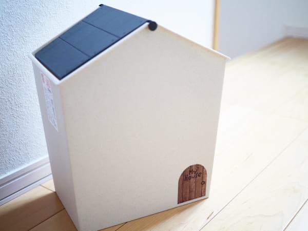 おうち型のゴミ箱