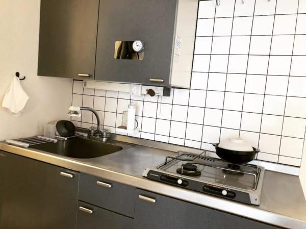 一人暮らしのキッチンインテリア7