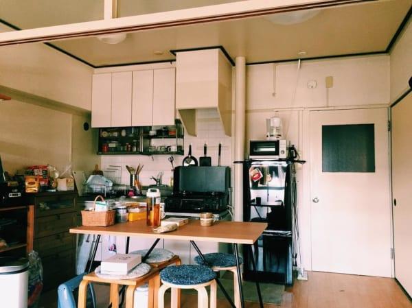 一人暮らしのキッチンインテリア8