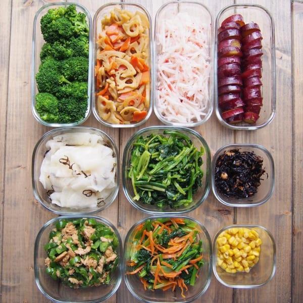 いろいろな野菜の副菜