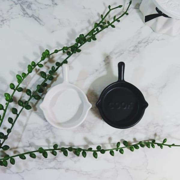 セリアのフライパン型豆皿