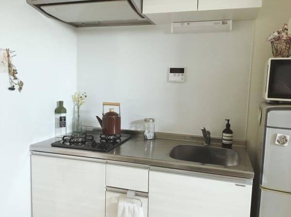 一人暮らしのキッチンインテリア9