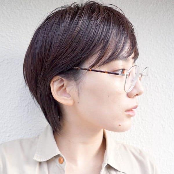 メガネに似合う髪型を知りたい デートからオフィスまで なヘア