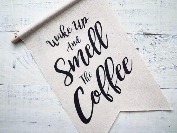 カフェ風タペストリー