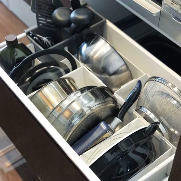 キッチン収納 フライパン2