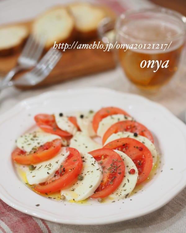 モツァレラとトマトのカプレーゼ