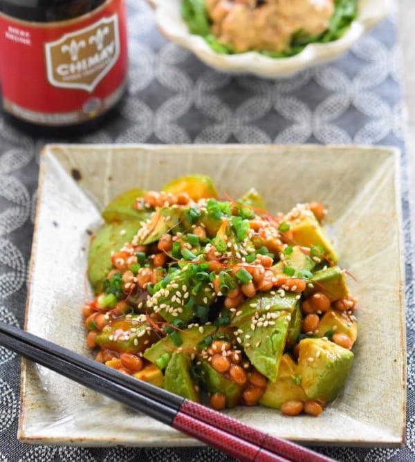 うま辛韓国風アボカド納豆