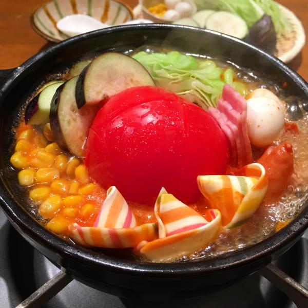 一人トマト鍋